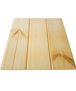деревянная крыша