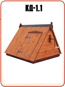 Домик колодезный простой недорого